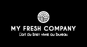 Logo Fond Blanc, My Fresh Company, entreprise bien-être